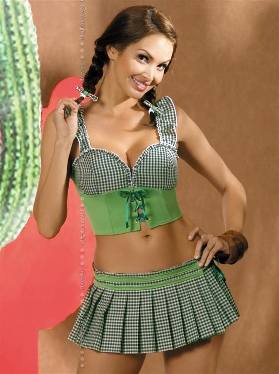 Sexy kostým Mexicana - Obsessive Barva: original, Velikost: S/M