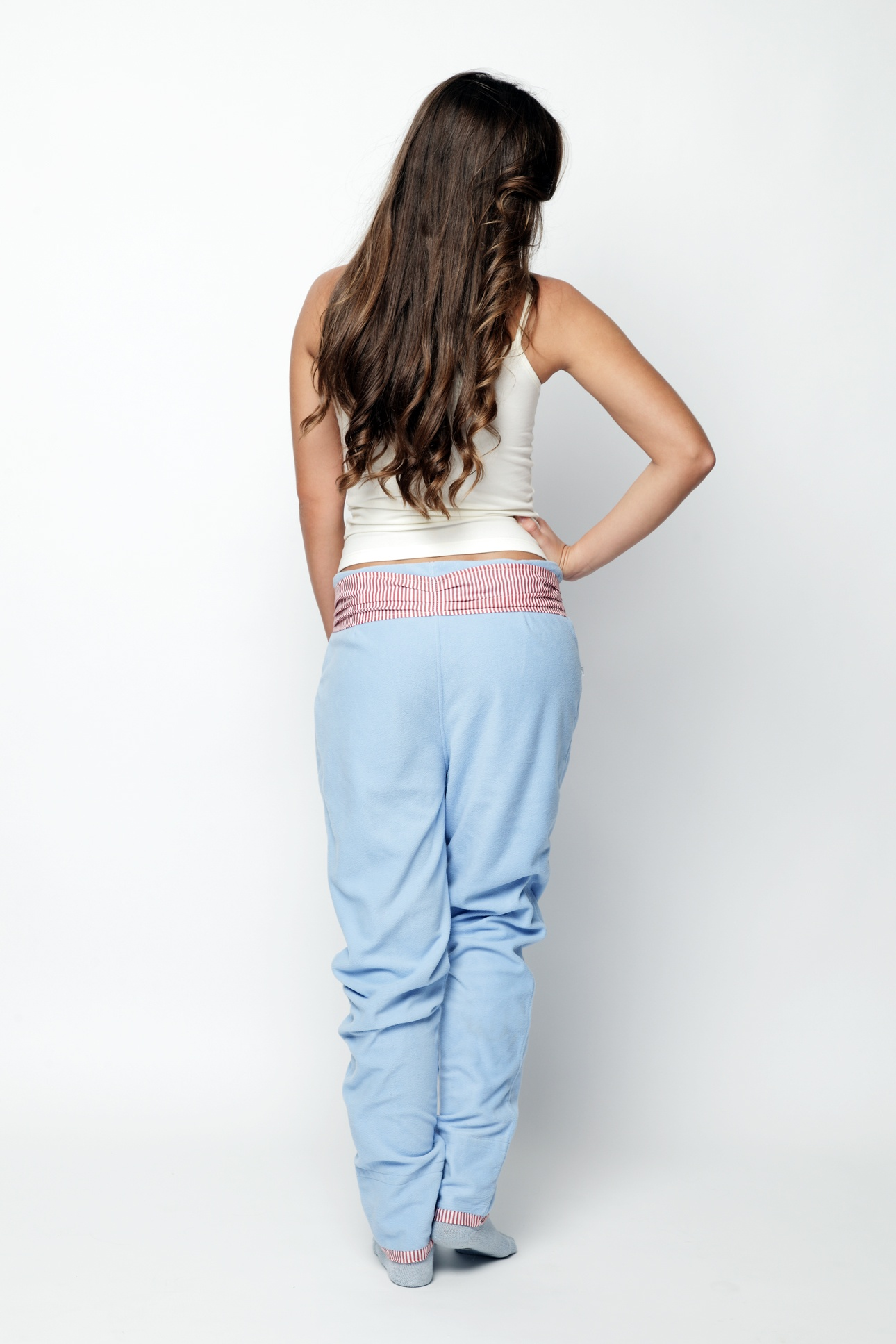 Tepláky Parisian Blue - Lull Homewear Barva: modrá, Velikost: S