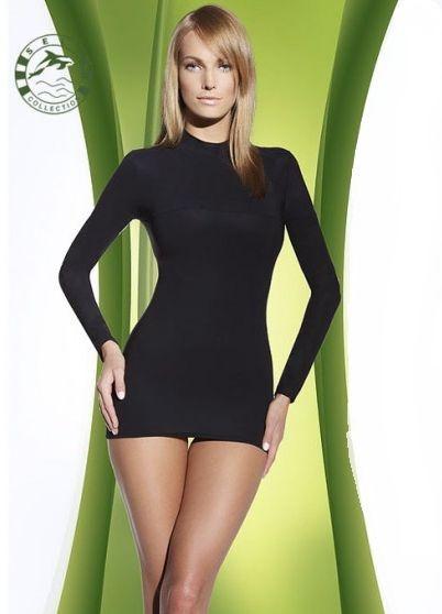 Zeštíhlující triko F 007 - Self černá XS/S