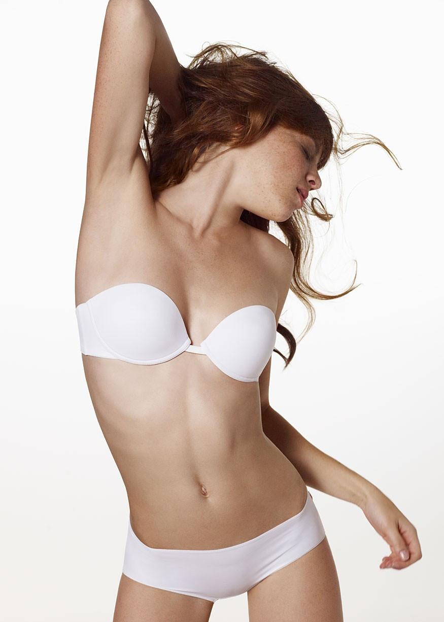 Podprsenka balkónová Miss Sexy & Crazy WDU - Triumph Barva: bílá, Velikost: 80A