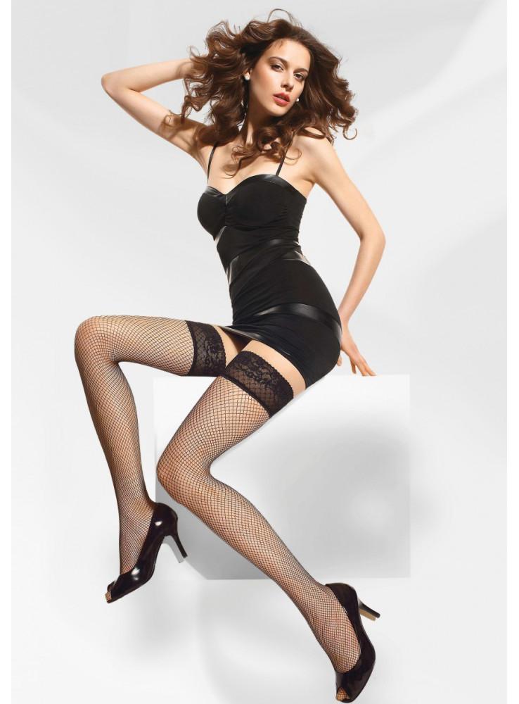 Punčochy samodržící Margherita 01 - Gatta Barva: beige, Velikost: 1-2