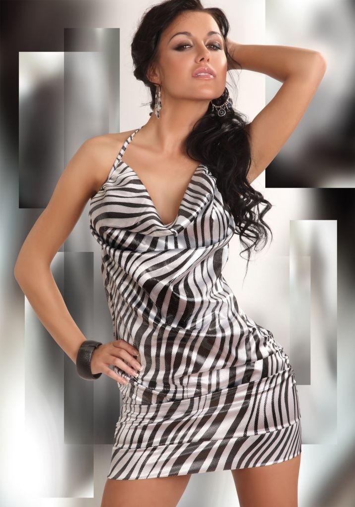Košilka Eliora-LivCo Corsetti Barva: černo-bílá, Velikost: M