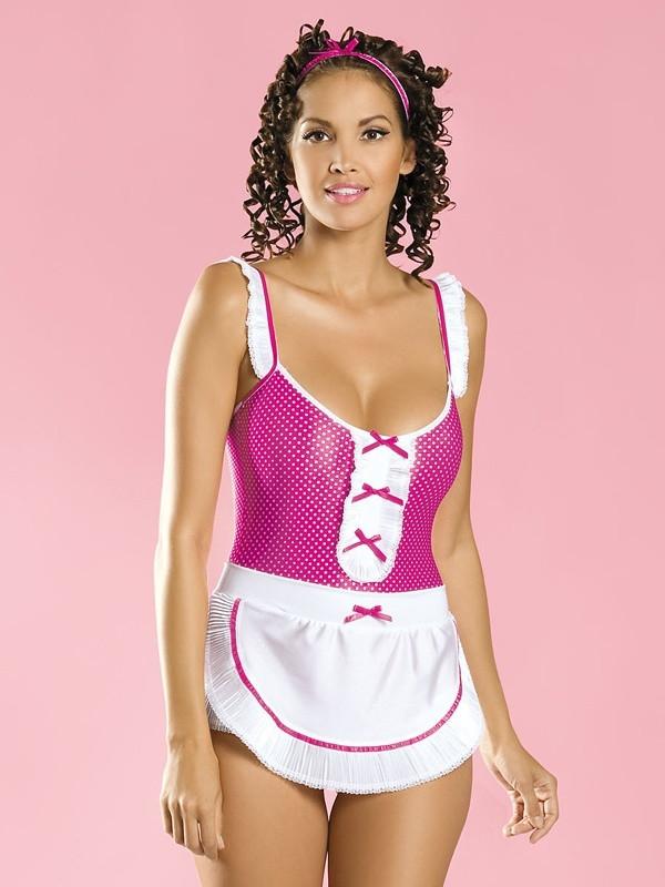 Sexy kostým Creola maid - Obsessive Barva: original, Velikost: S/M