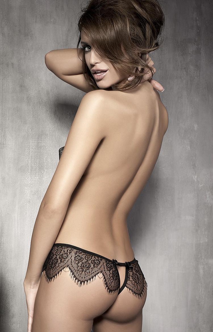 Kalhotky Anais Abbigail panty Barva: černá, Velikost: L