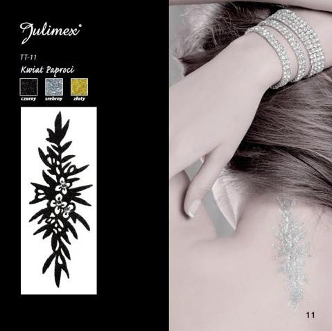 Samolepící tetování TT-11 barva: zlatá, velikost: uni