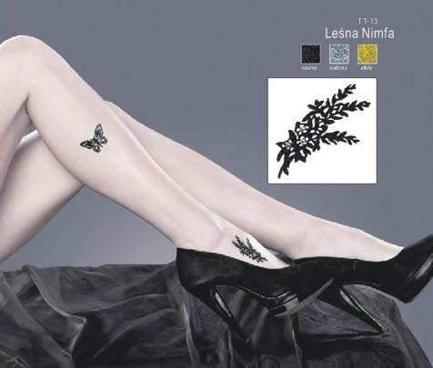 Samolepící tetování TT-13 Barva: stříbrná