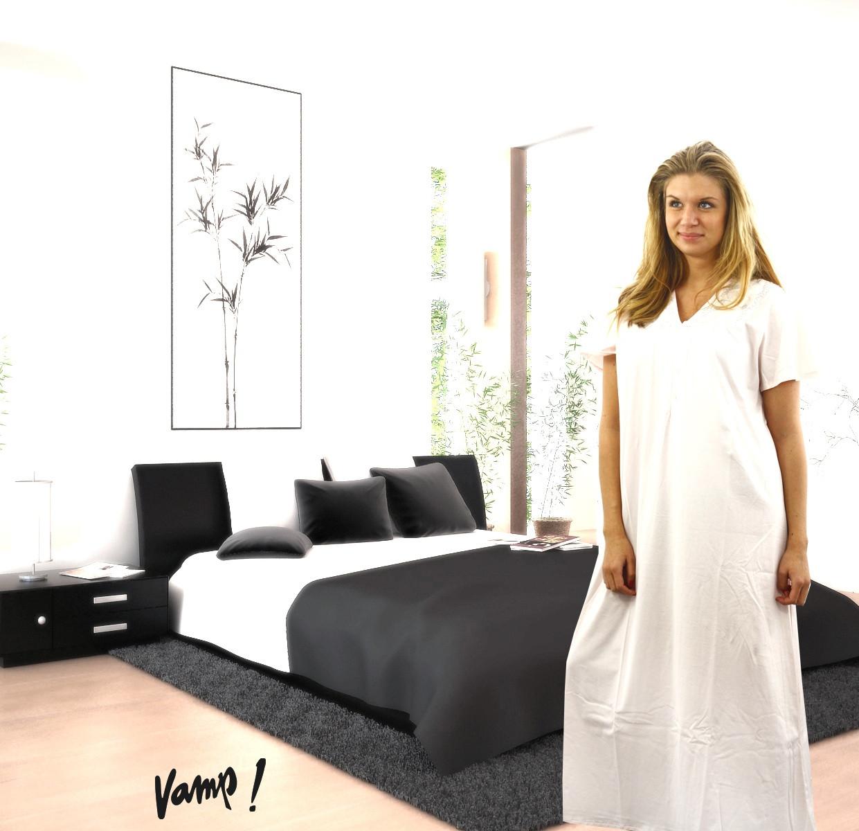 Noční košile 8502-Vamp barva: růžova, velikost: XXL