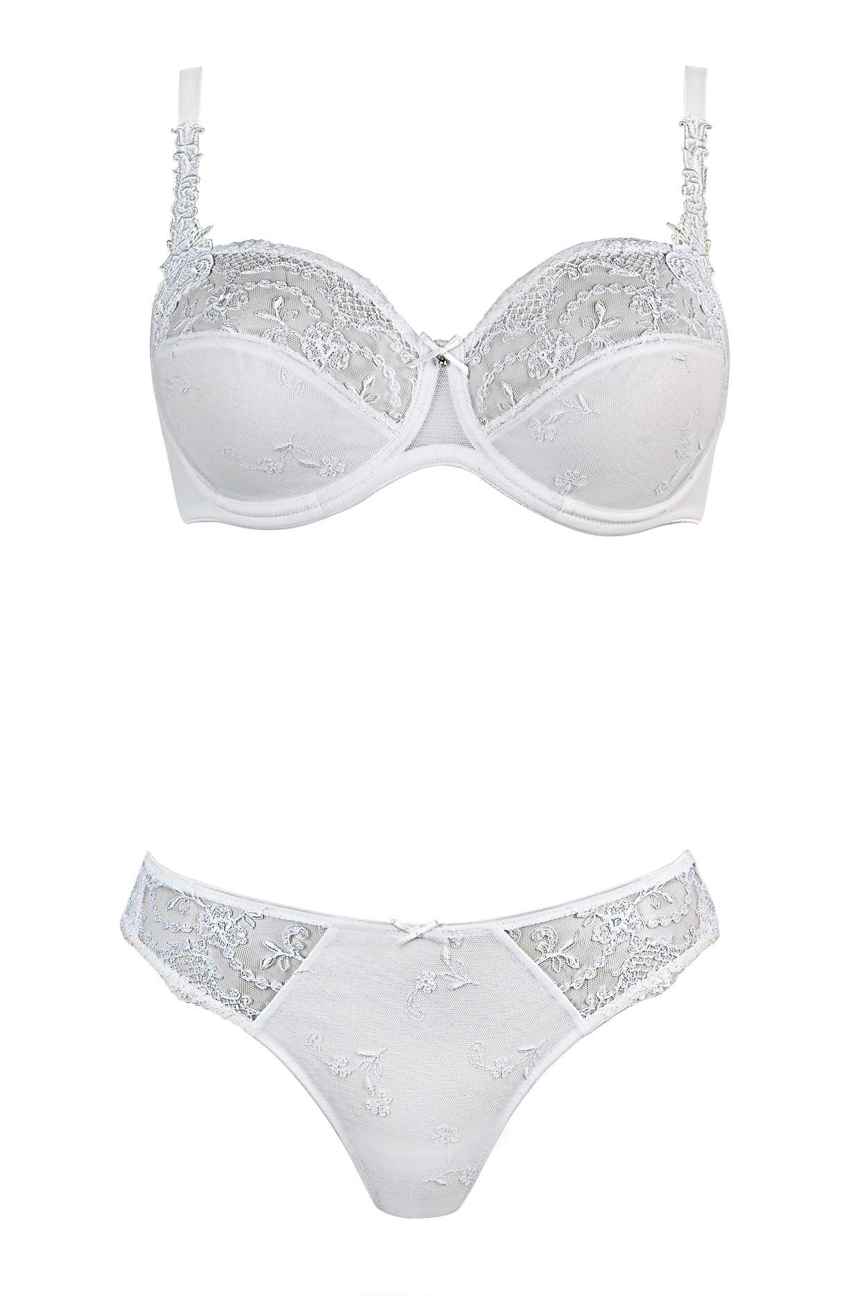 Tanga Conturelle 80116-Felina barva: bílá, velikost: 38