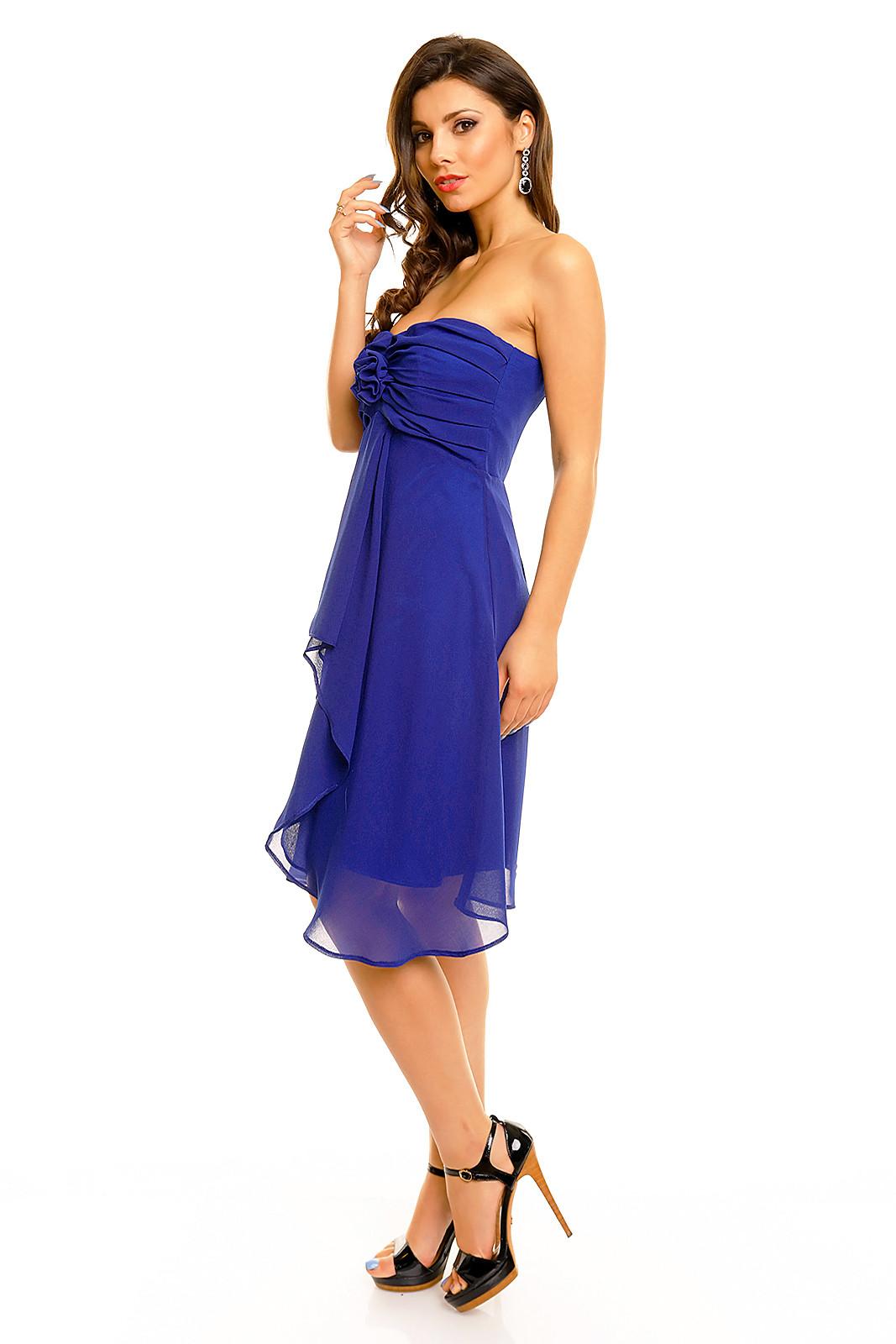 Dámské šaty MAYAADI HS-255 - Tmavě modré XL