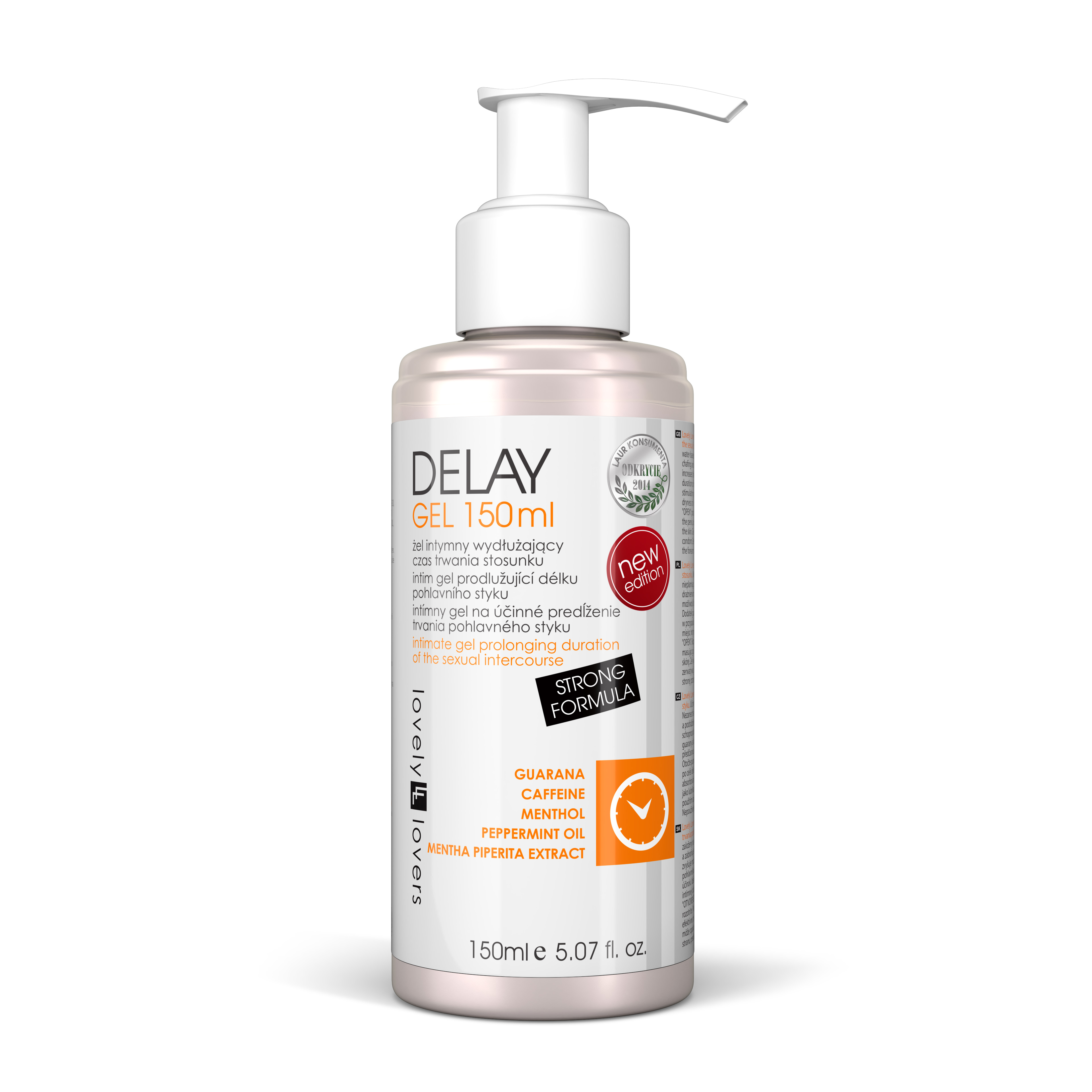 Lubrikační gel Delay Gel 150ml - Lovely Lovers