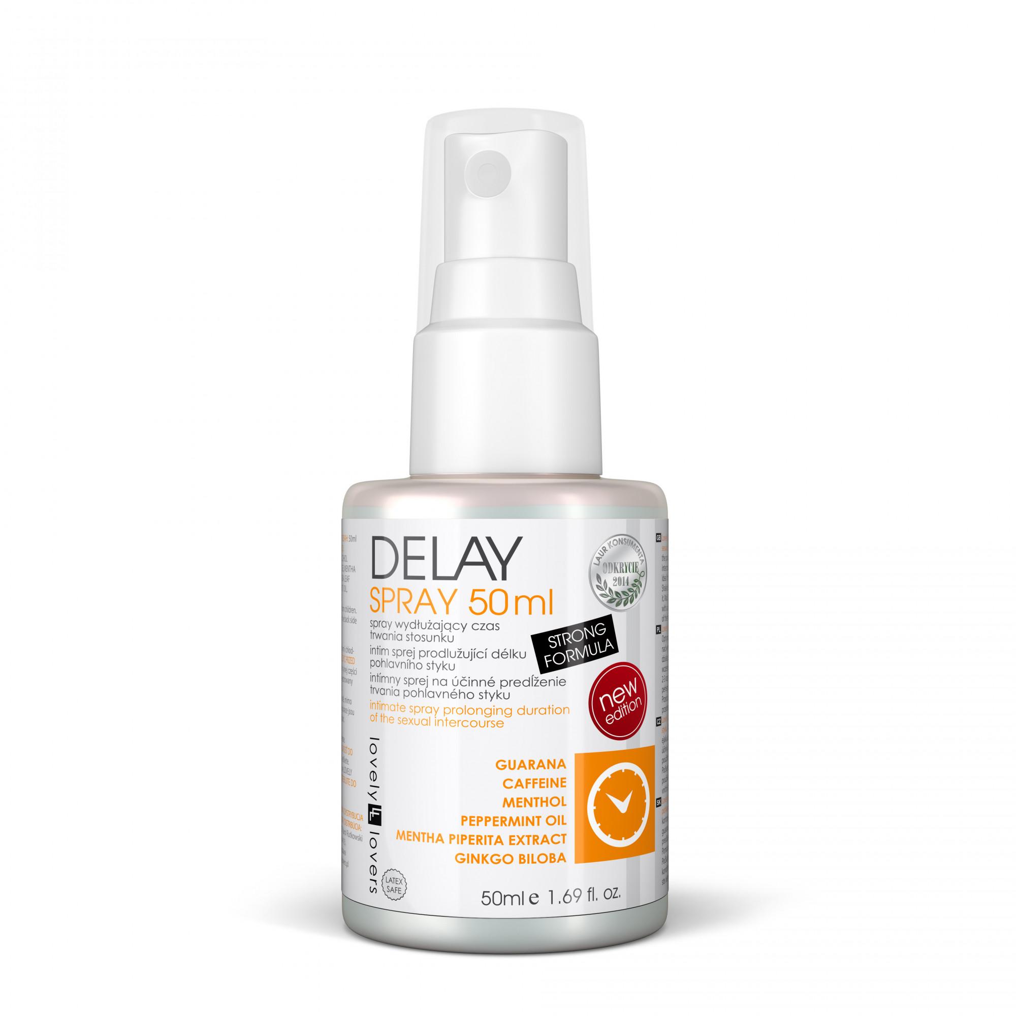 Intimní sprej Delay Spray 50ml - Lovely Lovers