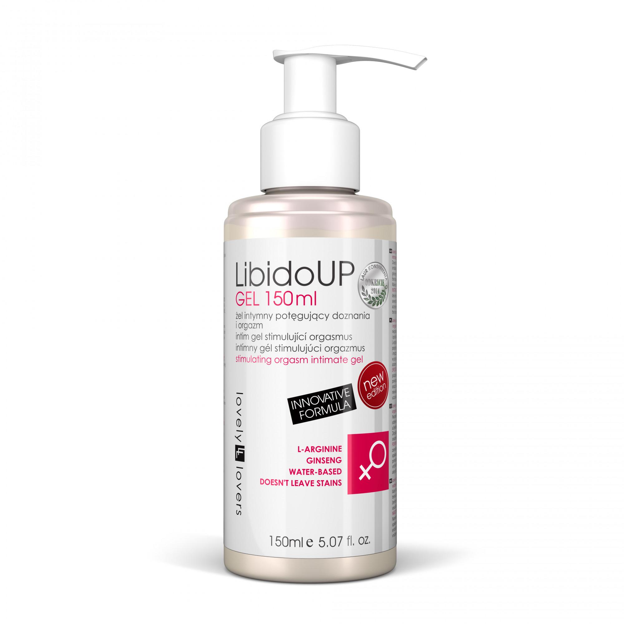 Lubrikační gel LibidoUp Gel Innovative Formula 150ml - Lovely Lovers