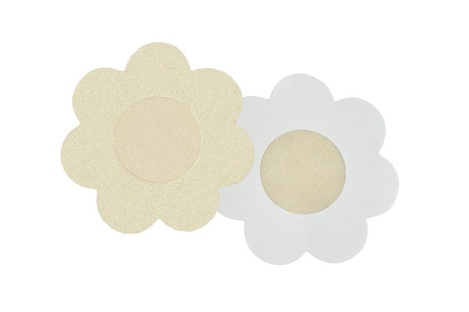 Nálepky na bradavky PS 07 - Julimex Barva: béžová, Velikost: květinky