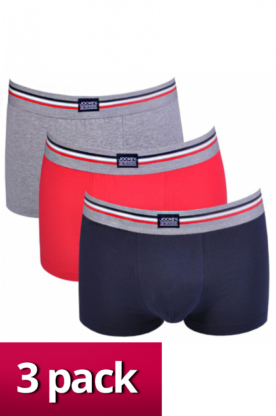 f3c13ef9ef0 Pánské boxerky 17302913 3pack barevné - Jockey šedá