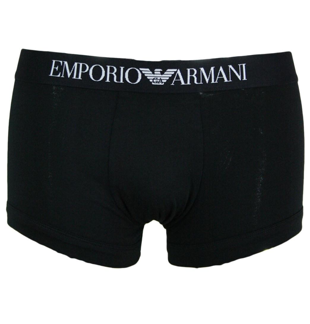 Pánské boxerky 110389 - Emporio Armani Barva: bílá, Velikost: XXL