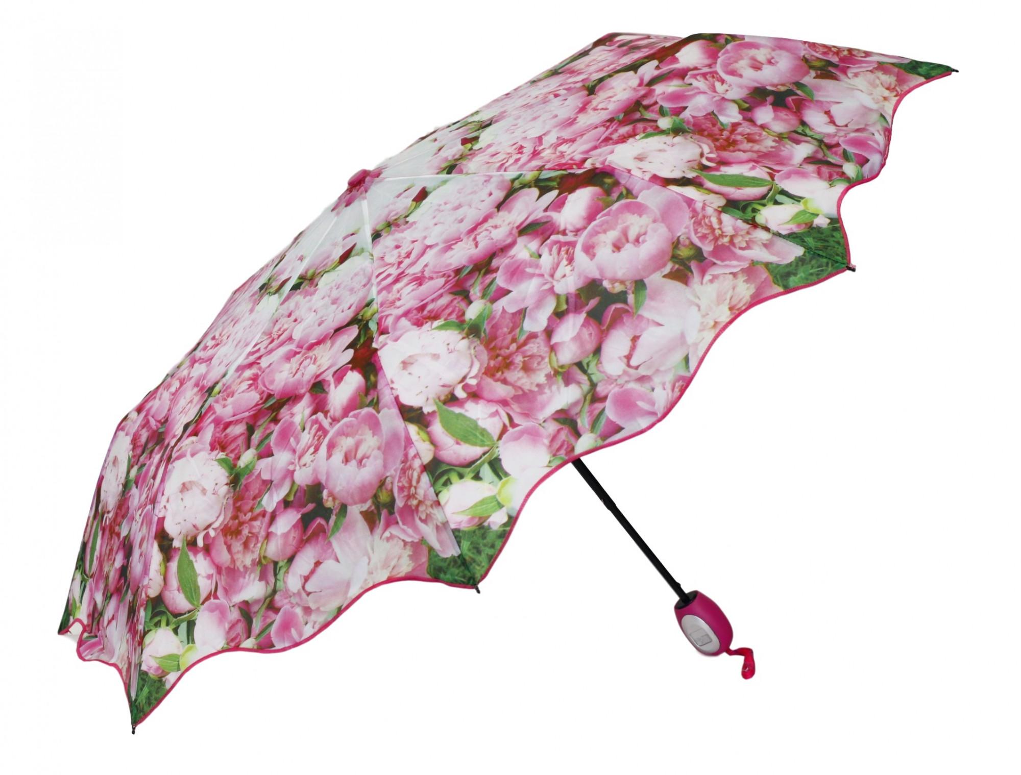 Dámský deštník 25635 - Perletti Barva: růžová, Velikost: uni