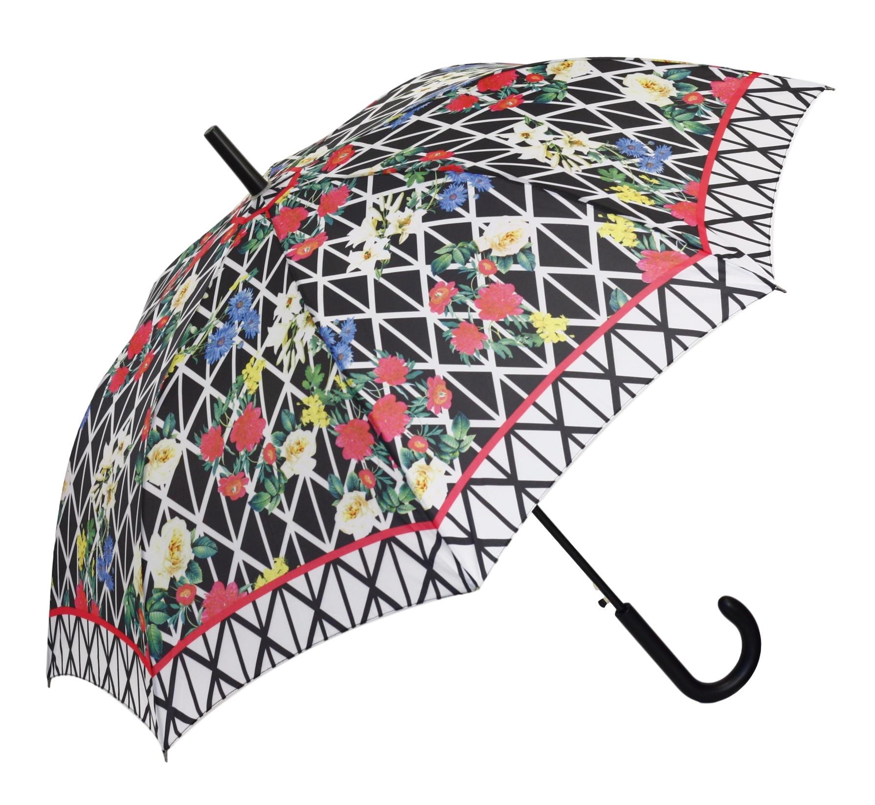 Dámský deštník 18225 - Perletti Barva: květy, Velikost: uni