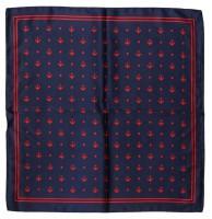 Dámský šátek satén - Gemini Barva: káro - červená