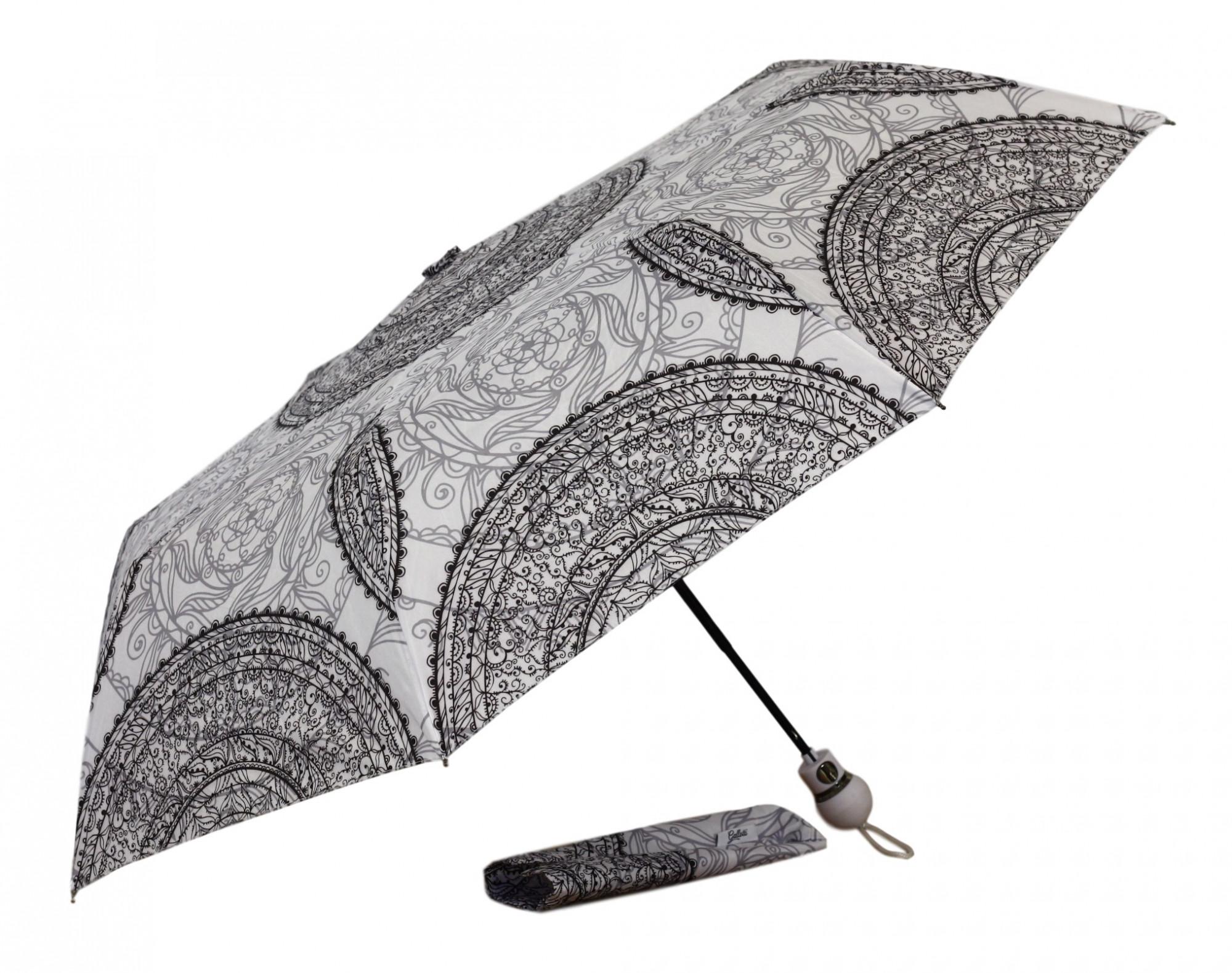 Dámský skládací deštník 9008 -Gallotti Barva: bílá