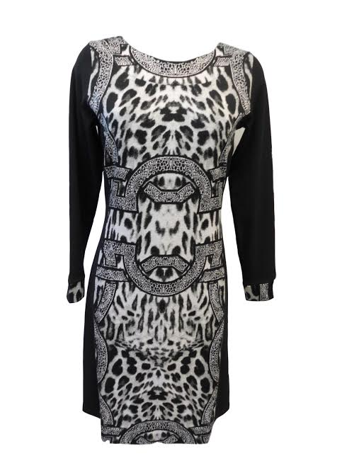 Šaty Zenta šat - Favab Barva: černo-šedá, Velikost: M
