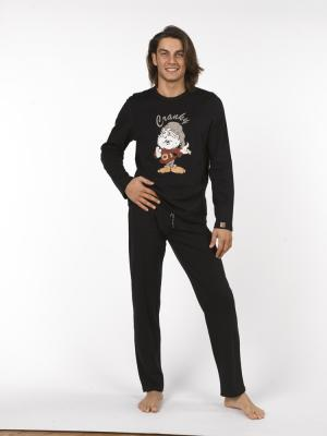 Pánské pyžamo 7551 - Vamp Barva: černá, Velikost: L