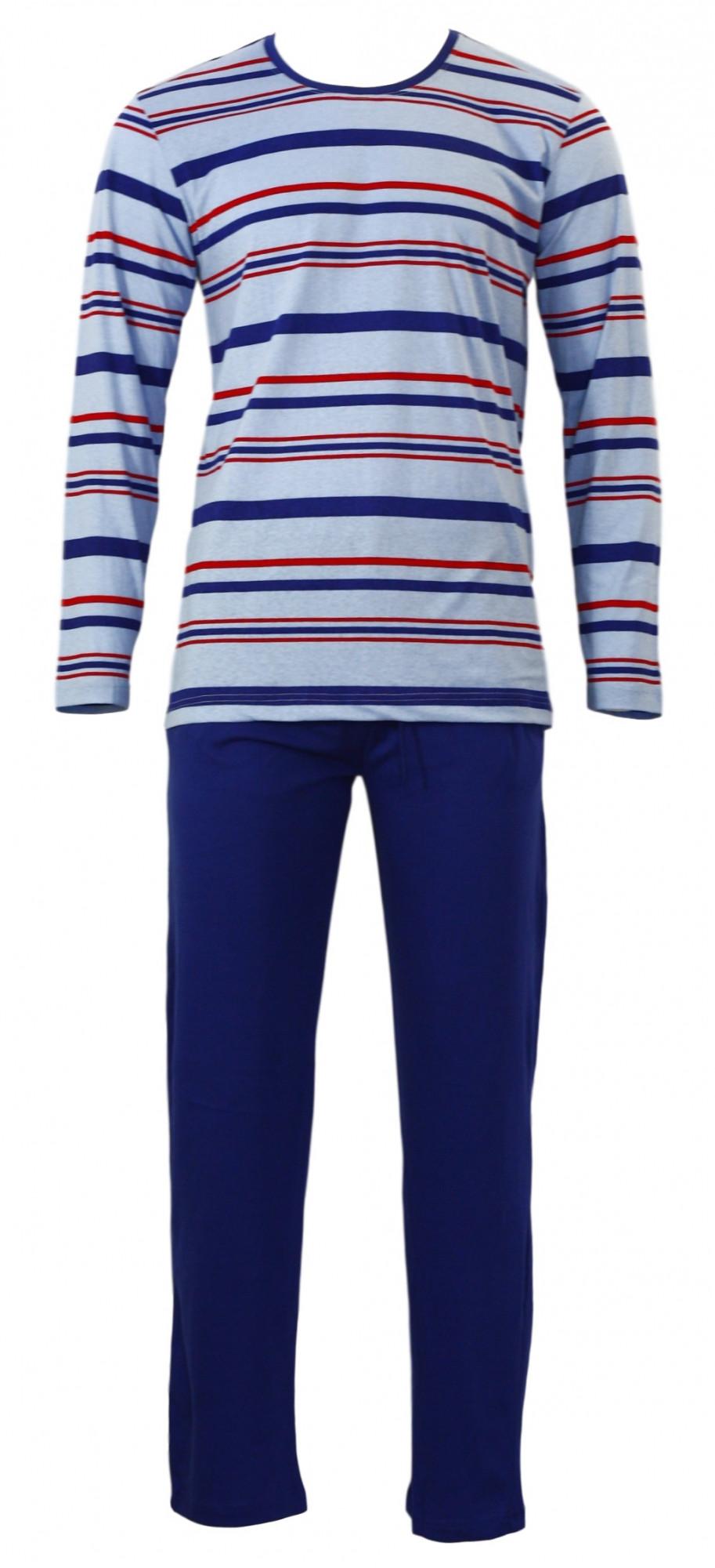 Pánské pyžamo Gazzaz 4497 Barva: černá -pruh, Velikost: XL