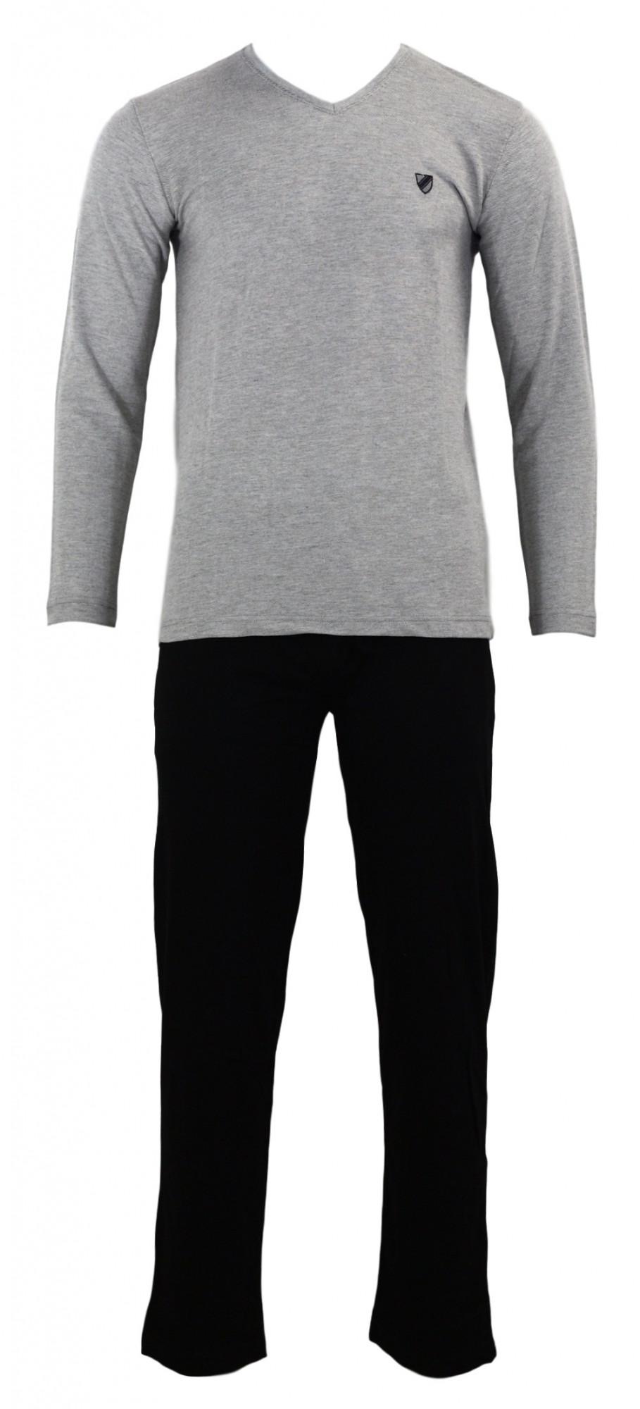Pánské pyžamo 4516 - Gazzaz Barva: šedá, Velikost: M