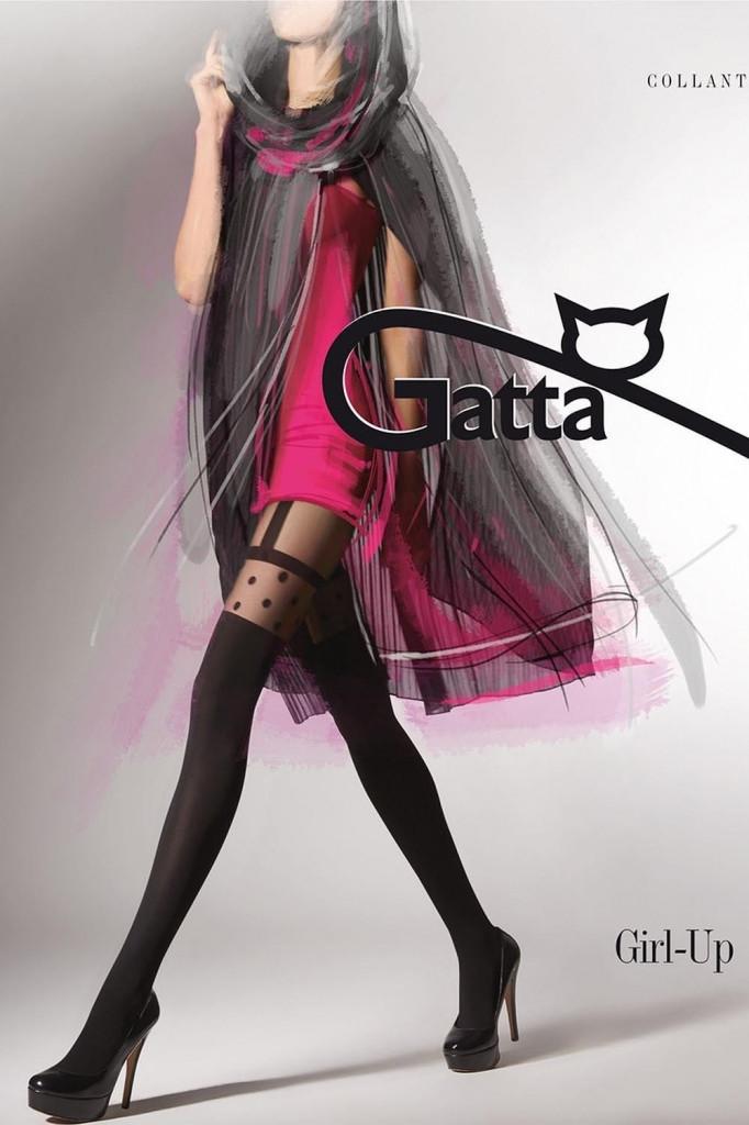 Punčochové kalhoty Girl-Up 12 - Gatta Barva: černá, Velikost: L
