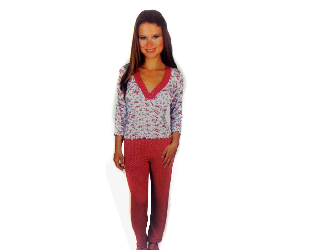 Dámské pyžamo 588 YPJ - Cocoon Secret Barva: růžová, Velikost: S