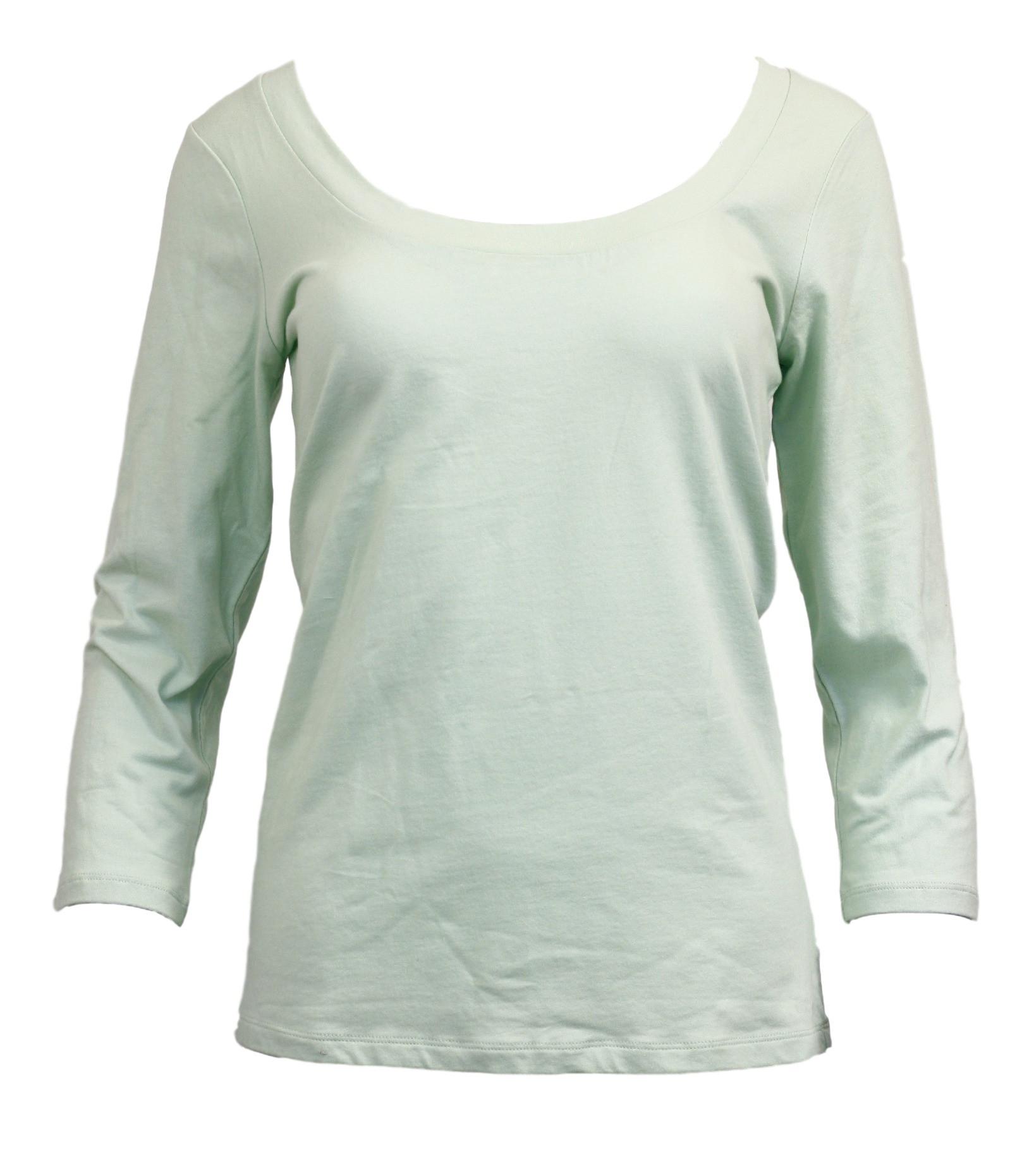Dámské triko QS1686E - Calvin Klein zelená L