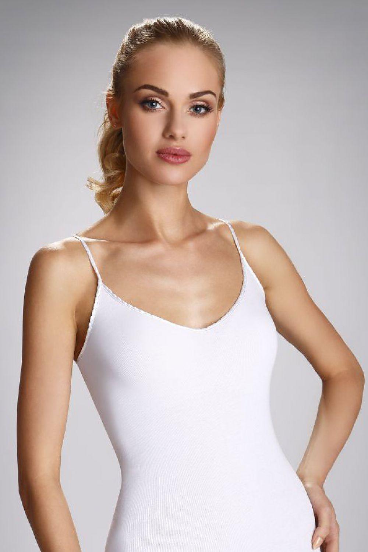 Dámská spodní košilka Maja - Eldar Barva: černá, Velikost: XL
