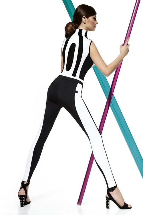 Legíny Carmen - Bas Bleu Barva: černá, Velikost: M