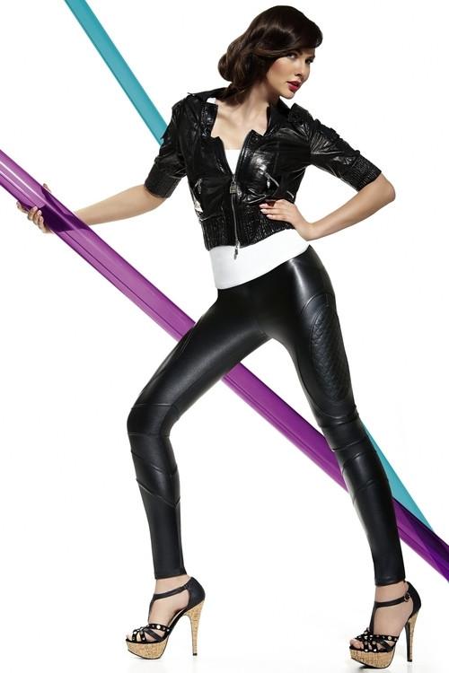 Legíny Roxana - Bas Bleu Barva: černá, Velikost: L