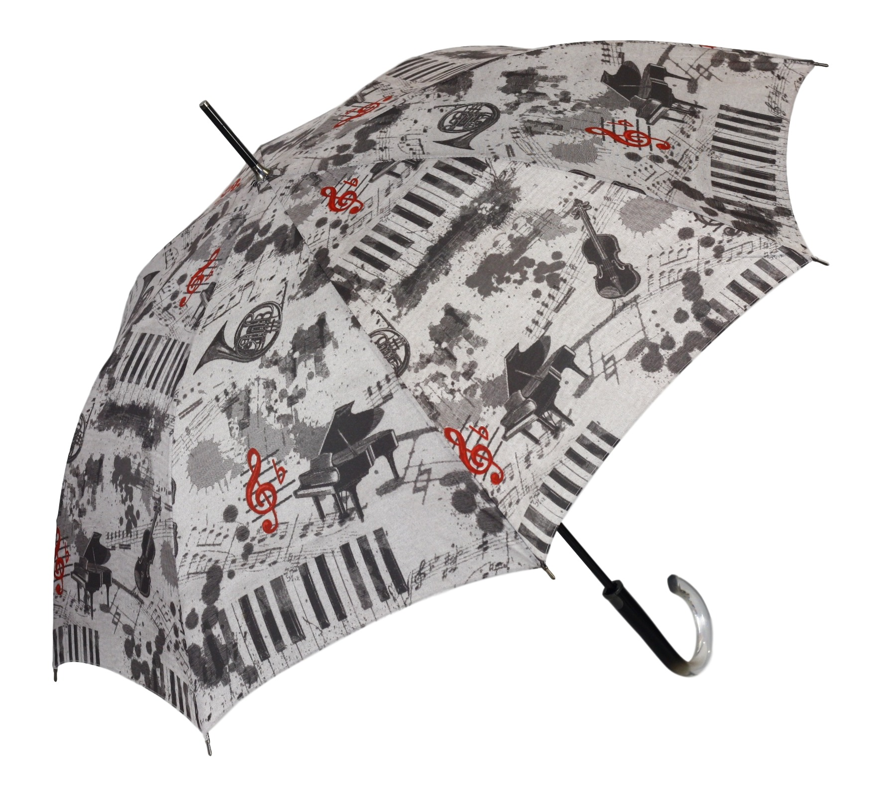 Dámský deštník 146 - Lara Bucci Barva: šedá, Velikost: uni