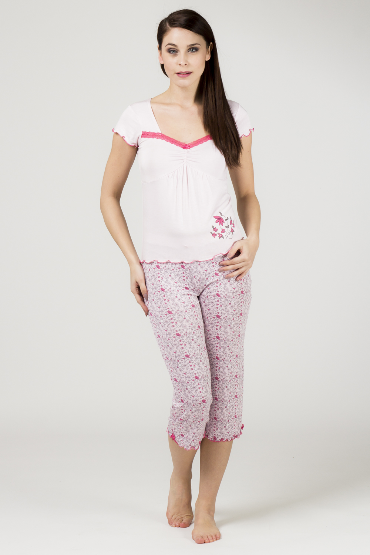 Dámské pyžamo 565 KK - Cocoon Barva: růžová, Velikost: XL