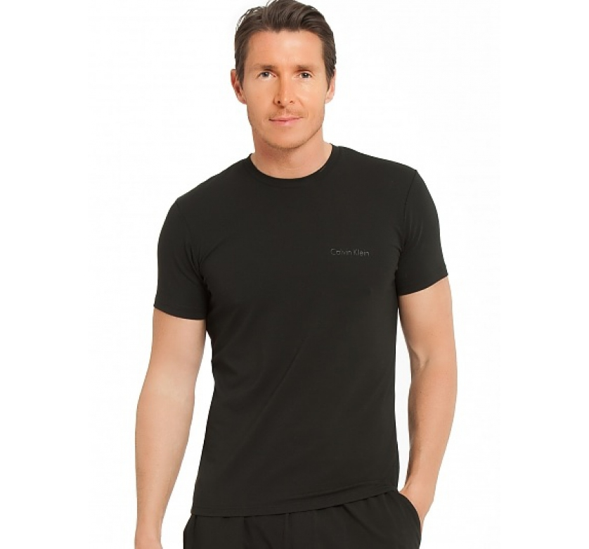 Pánské tričko NM1074A - černá - Calvin Klein Barva: černá, Velikost: XL