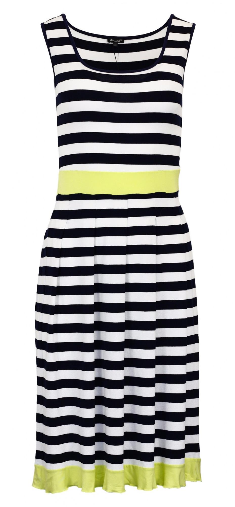 Dámské letní šaty Lana Mod Essed - Favab námořní pruhy XS