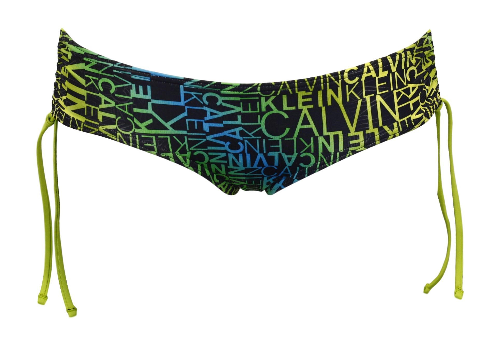 Plavky šortky 53688W2 - Calvin Klein Barva: zelená, Velikost: 34