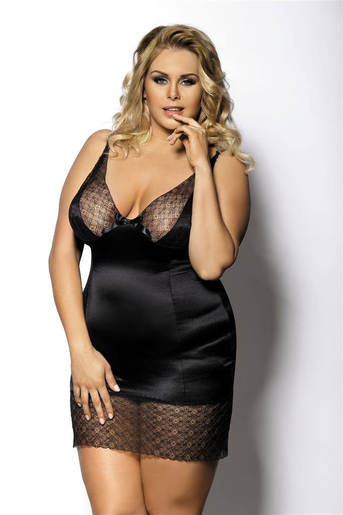 Košilka Gorgeous+ Enfia - Anais Barva: černá, Velikost: XL/2XL