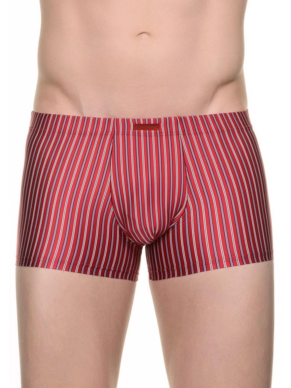 Pánské boxerky 2201-1449 Bruno Banani Barva: červená, Velikost: XXL