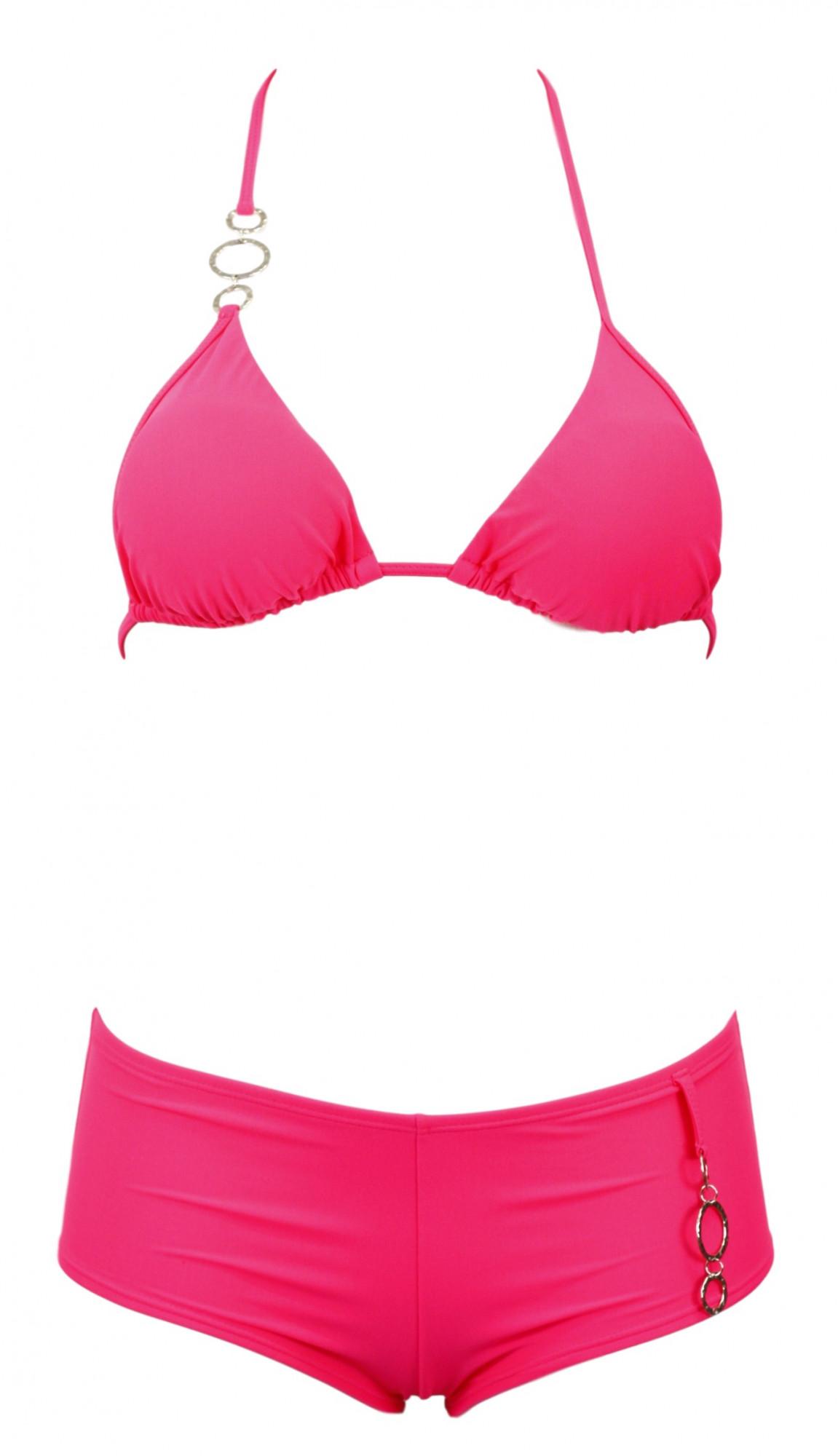 Dámské dvojdílné plavky Donna Ismena Barva: růžová, Velikost: M