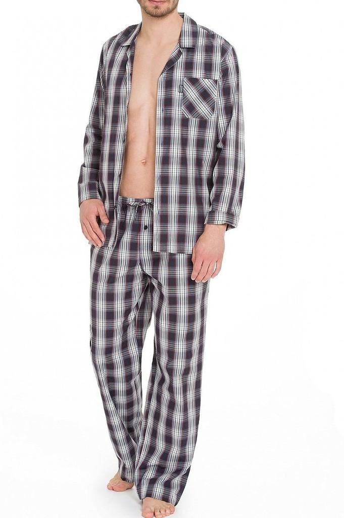 Pánské pyžamo DR/DN 50091 - Jockey proužky L
