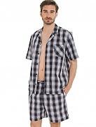 Pánské pyžamo KR/KN 50090 - Jockey proužky M