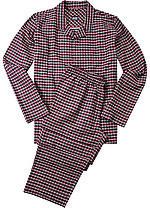 Pánské pyžamo DR/DN 52243 - Jockey černo-červená L