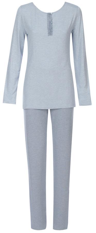 Dámské pyžamo Charming Shades PK 02 - Triumph Barva: sv.modrá, Velikost: 42