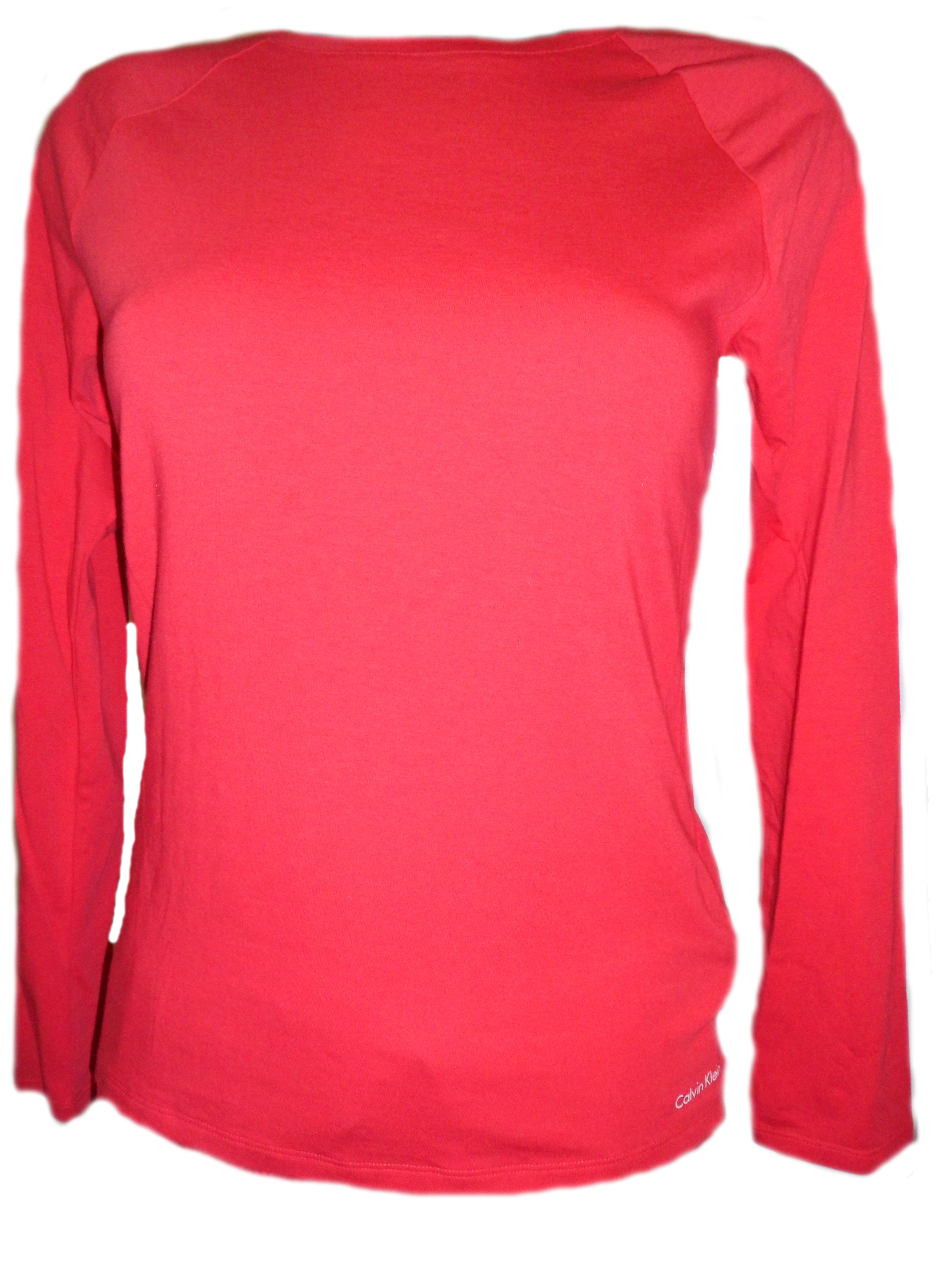 Dámské triko DR QS5320E - Calvin Klein Barva: červená, Velikost: L