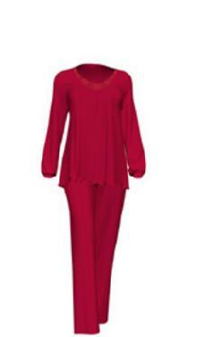 Dámské pyžamo 10-5201 - Vamp Barva: modrá, Velikost: XXL