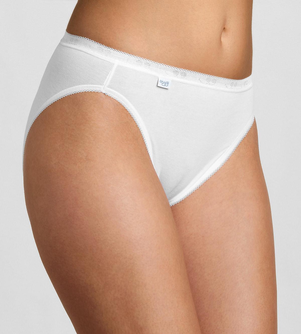 Kalhotky Sloggi Basic+ Tai 2P bílá 0003 - Triumph Barva: bílá, Velikost: 40