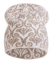 Dámská čepice KA-LYL Barva: béžová, Velikost: uni