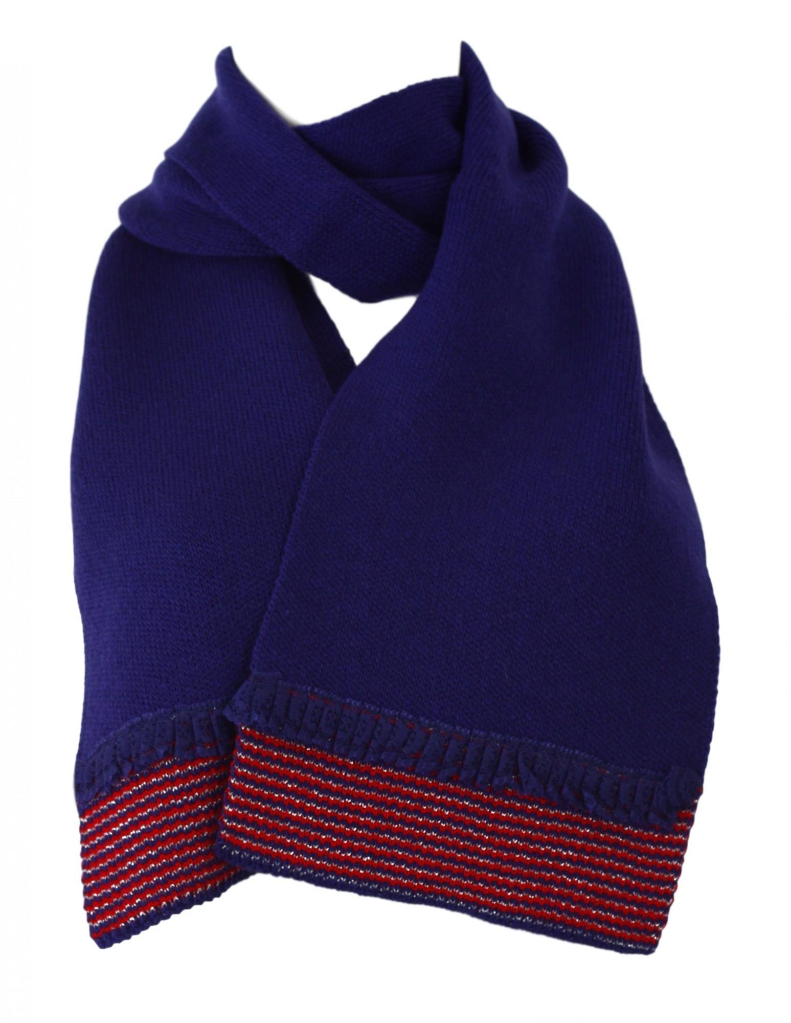 Dámská šála KA-AUR - Kamea granátová-fialová uni